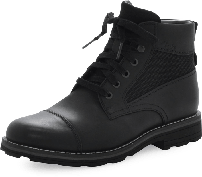 Clarks - Naylor Limit Black Wlined Lea