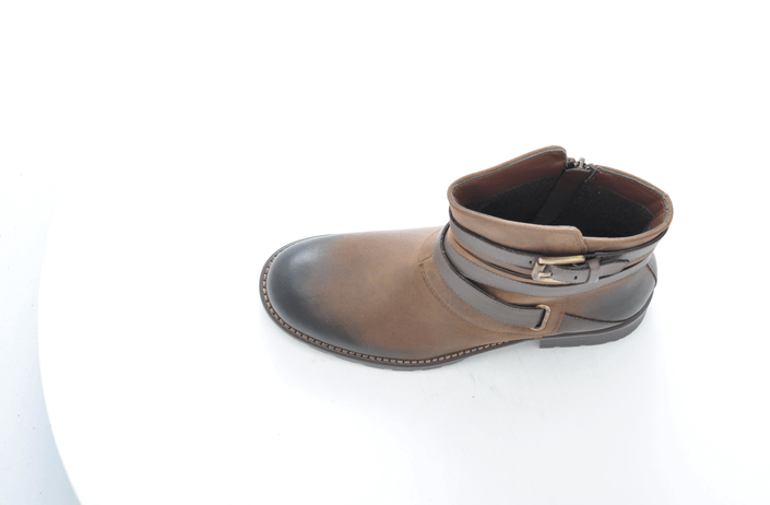 Clarks - Orinoco Sash Brown Leatehr