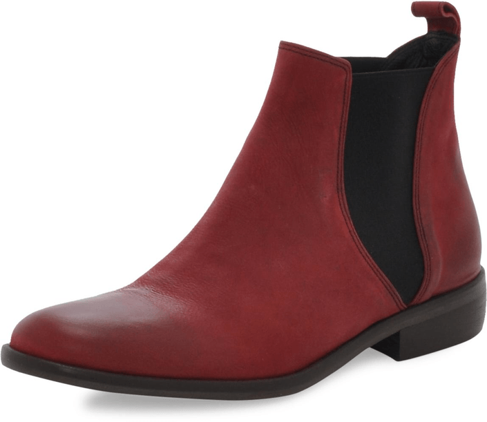 Mentor Chelsea Boot Bordeaux Washed