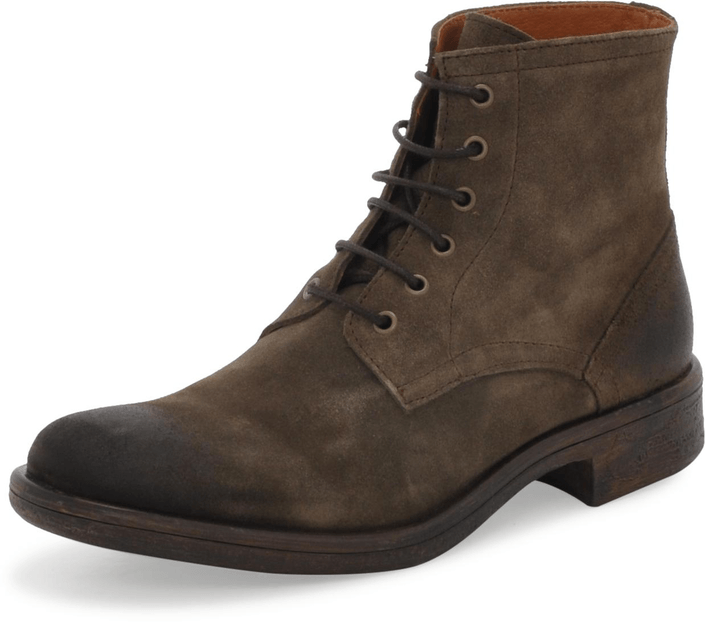 Mentor Military Boot Elephant Suede