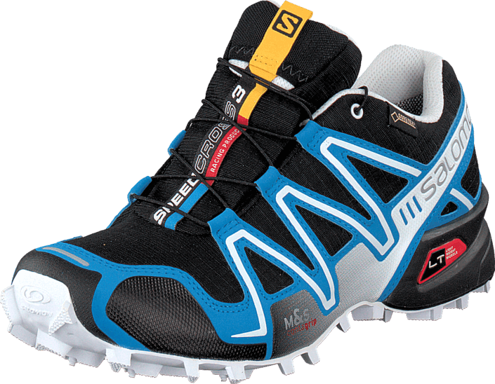 Salomon - Speedcross 3 Gtx Black/Methyl Blue/Wh