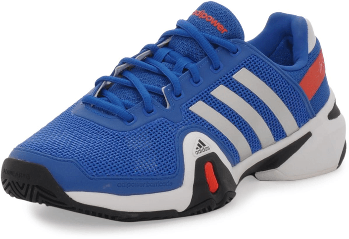 adidas Sport Performance - Adipower Barricade 8 Blue Beauty/Metallic Silver