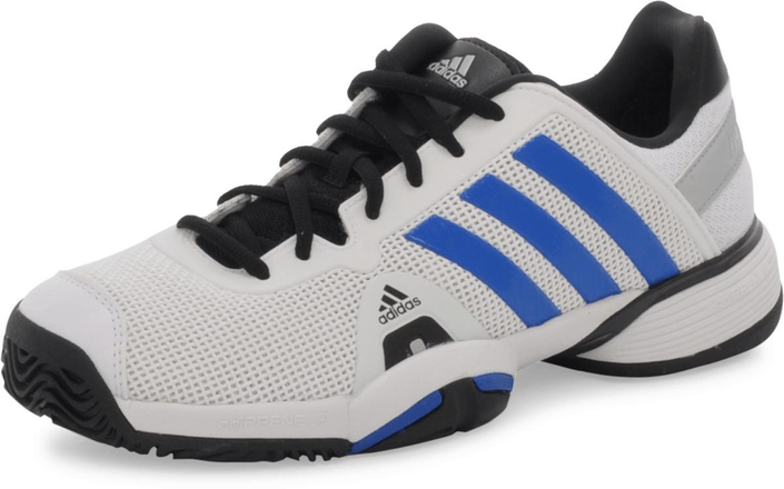adidas Sport Performance - Barricade 8 Xj Running White/Blue Beauty