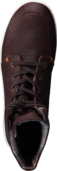 Hub Footwear - Chess Leather/Lumberjack Dark Brown