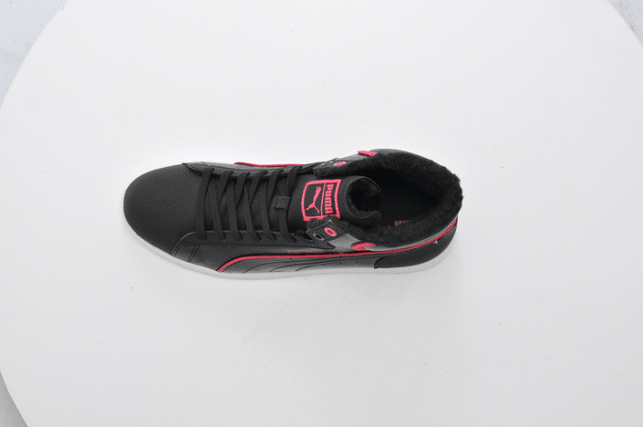 Puma - First Round Fur Jr Blk/Pink