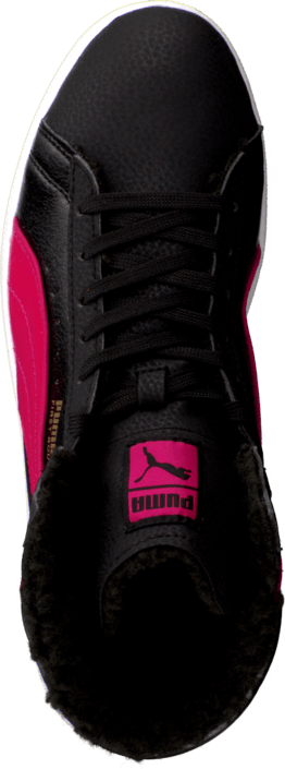 Puma - First Round Fur Jr Bubbelgum/Black