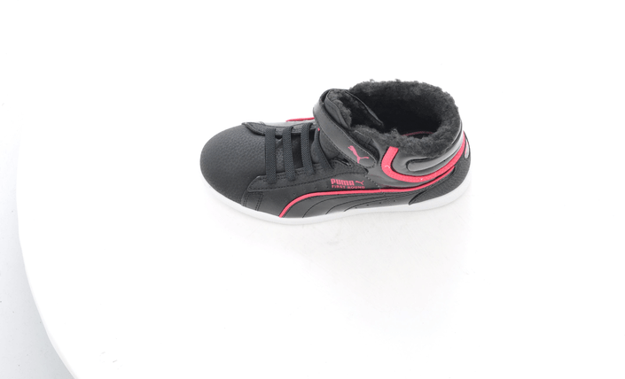 Puma - First Round Fur V Kids Blk/Pink