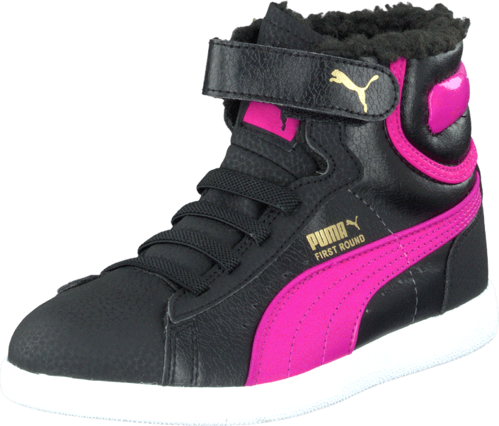 Puma - First Round Fur V Kids Bubbelgum