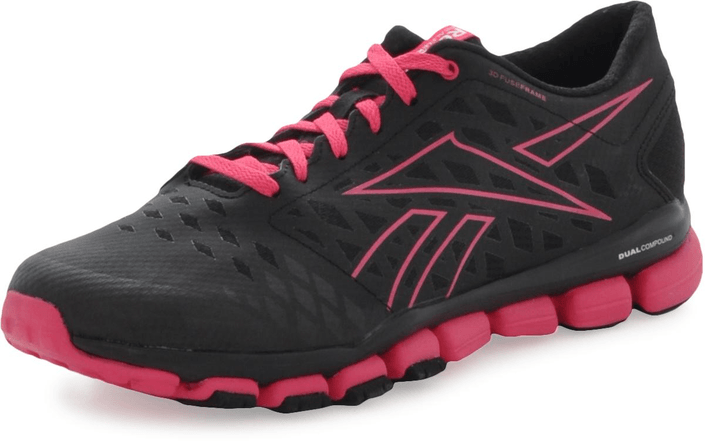 Reebok - Realflex Fusion Tr 3.0 Black/Candy Pink