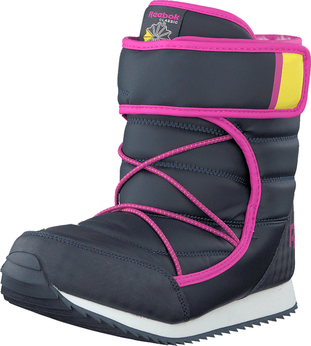Reebok - Frostbound II Faux Indigo/Pink/Yellow
