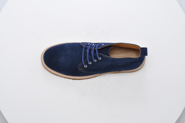 Knowledge Cotton Apparel - Chukka Boots Total Eclipse