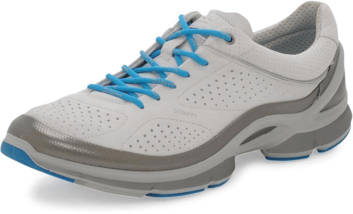 Ecco - Biom Evo Trainer Silver Metallic/White/Concrete