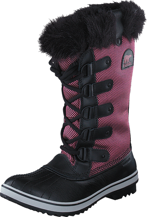 Sorel - Tofino Nylon NL2013-986 Chili, Black