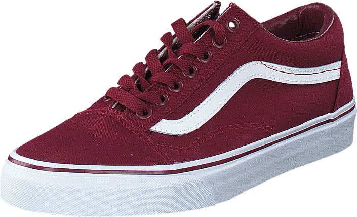 Vans - Old Skool (Canvas) Cordovan/True White