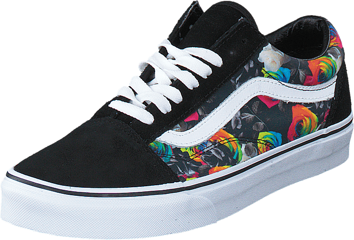 old skool vans rainbow