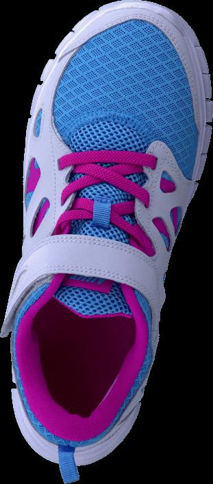Nike - Nike Free Run 2 (Psv) Vvd Bl/Vvd Pnk-Pr Pltnm-White