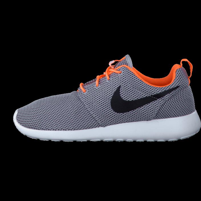Kjøp Nike Nike Rosherun Wolf GreyBlk Atmc Orng White Gråa