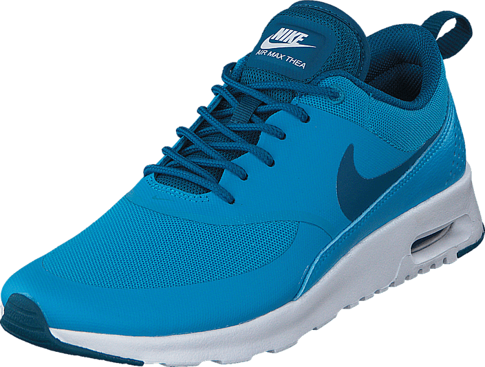promo code 8c9f3 345fe ... roshe run udsalggratis retur 91491 a9d4a  authentic køb nike wmns nike  air max thea blue lagoon green abyss turkis sko online brandos