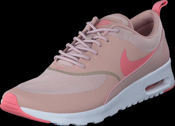 køb nike wmns nike air max thea pink oxford/bright melon white - nike air max thea rød lyserød