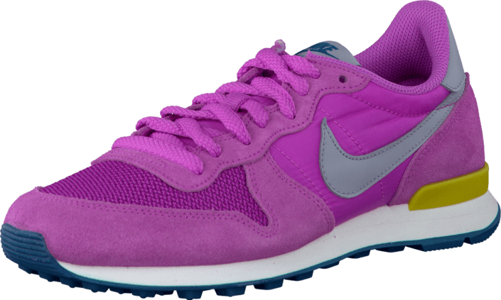 Nike - Wmns Nike Internationalist Rd Vlt/Wlf Gry-Brght Ctrn-Grn