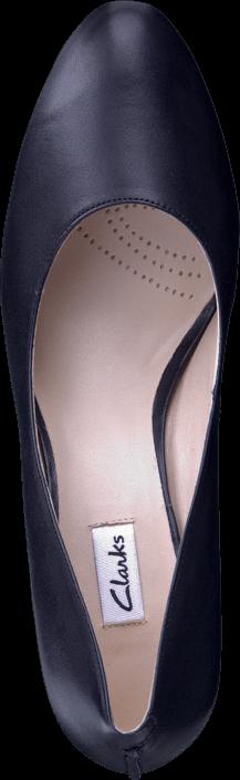 Clarks - Babington Race Black Leather