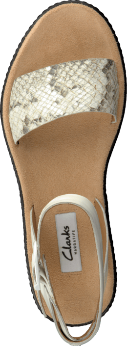 Clarks - Romantic Moon Natural Snake