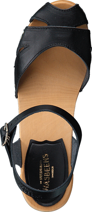 Swedish Hasbeens - Suzanne Black/Nature Sole