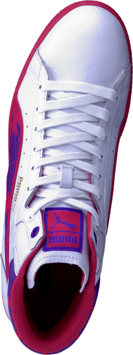 Puma - First Round Wildy Jr Wht/Purple