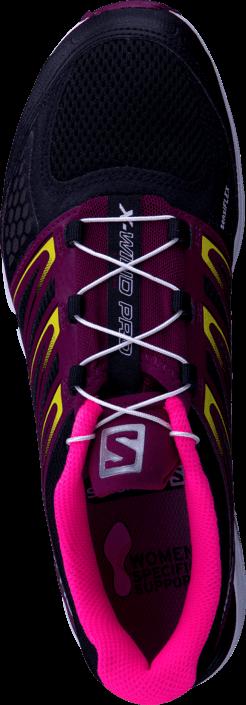 Salomon - X-Wind Pro W Black/Bordeaux/Fluo Pink