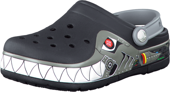 Crocs - Crocband Lights Robo Shark PS Black/Silver