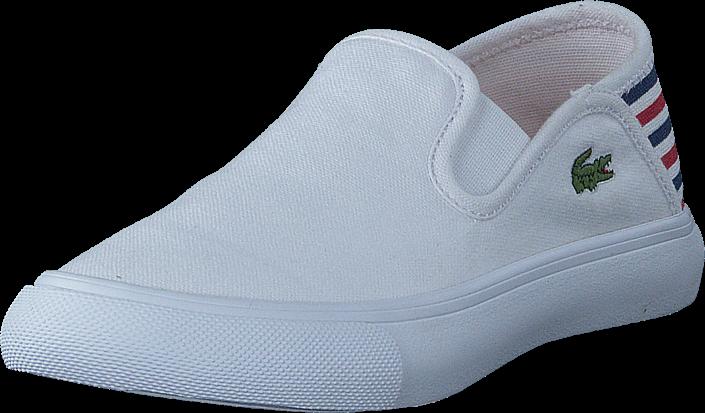 Lacoste - Bellevue Slip White/Red