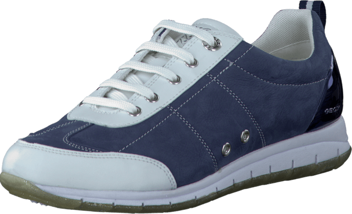 Geox - D Contact Navy/Optic White