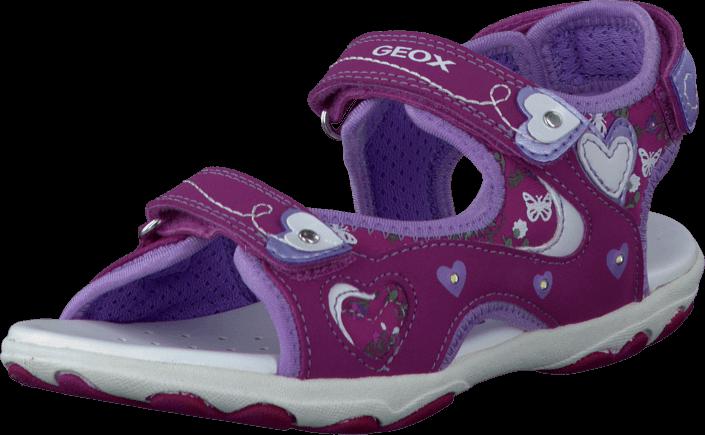 Geox - Jr Sandal Cuore Fuchsia