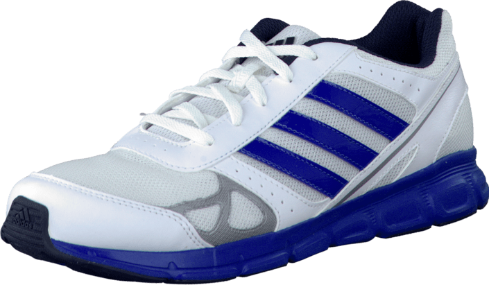 adidas Sport Performance - Hyperfast K White/Blue Beauty/Silver