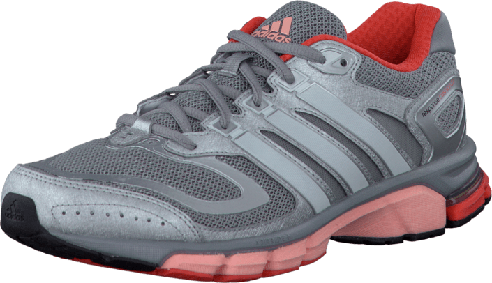 adidas Sport Performance - Response Cushion 22 Mid Grey/Pearl Met/Glow Orange