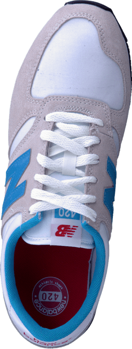 New Balance - U420SNWB White/Blue/Red