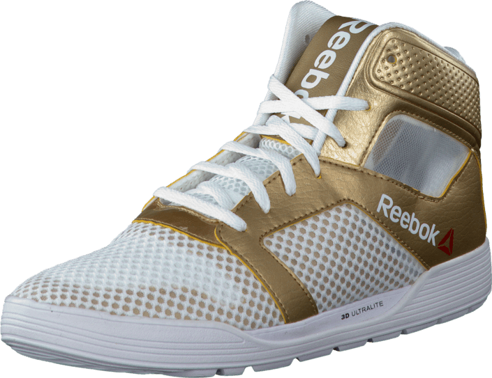 Reebok - Dance Urtempo Mid White/True Gold/Black