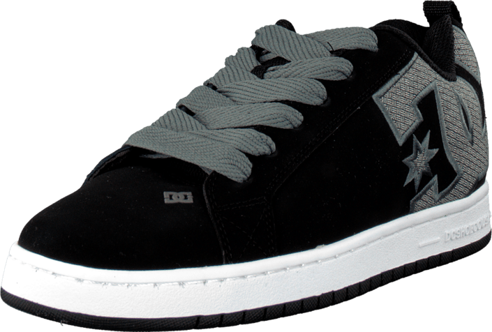DC Shoes - Court Graffik Se Shoe Black/Gun Metal