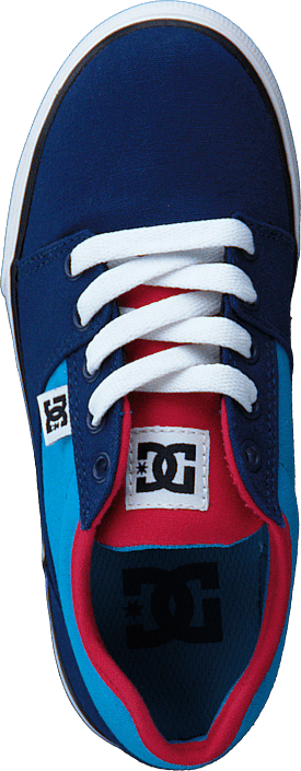 DC Shoes - Kids Bristol Canvas Shoe Blue/Red