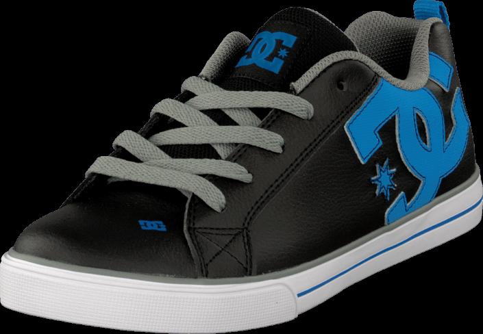 Kjøp Shoe BlackGlacier Blue DC Shoes Kids Vulc Court blå Graffik 8nOyN0vPwm