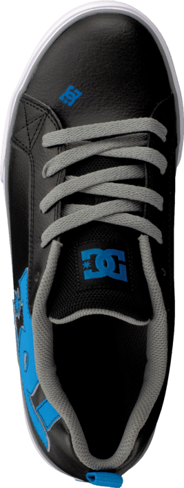 DC Shoes - Kids Court Graffik Vulc Shoe Black/Glacier Blue