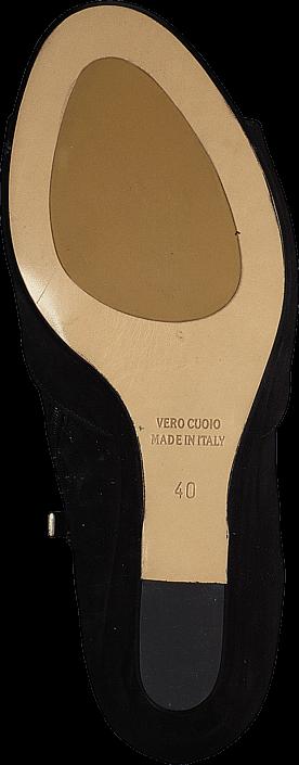 A Pair - 7608 Open Toe Black