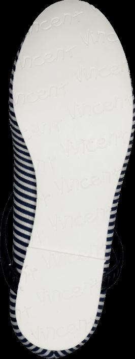 Vincent - Monica Navy / White