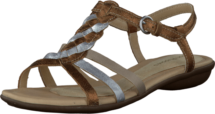 Hush Puppies - Nishi T Strap Metalic Multi