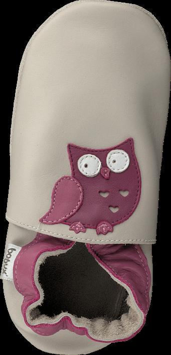 Bobux - Creme Owl Creme
