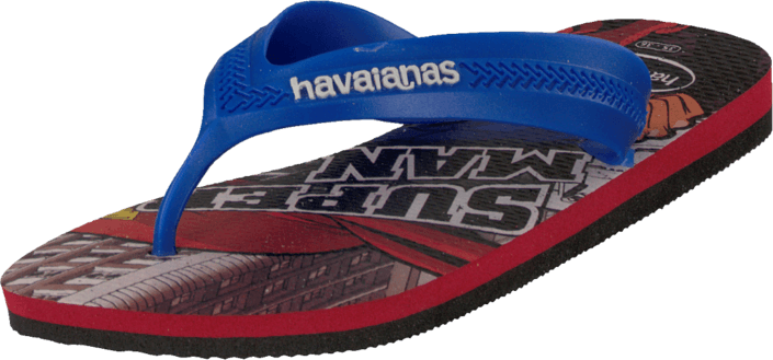 Havaianas - Kids Max Heroes Black/Red