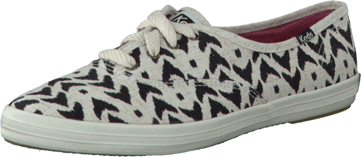 Keds - Champion Ikat White/Black Canvas