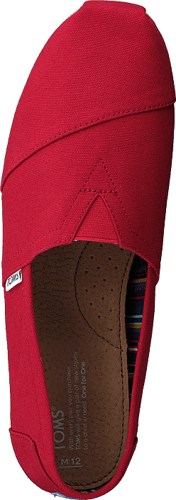 Toms - Men's Classics Red Canvas