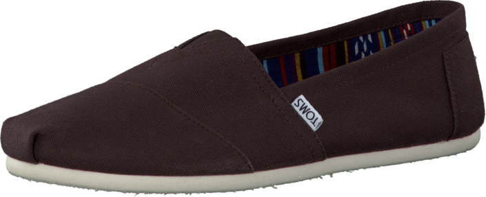Toms - Men's Classics Chocolate Canvas