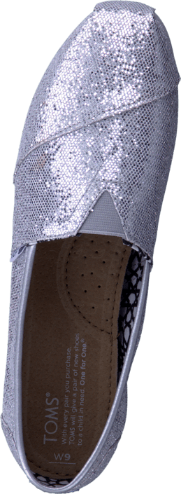 Toms - Women's Glitter Silver